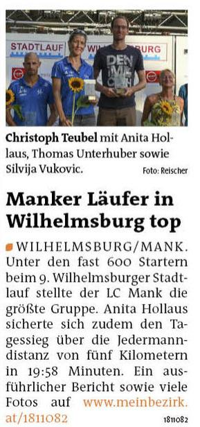 Bezirksblatt Melk 2016