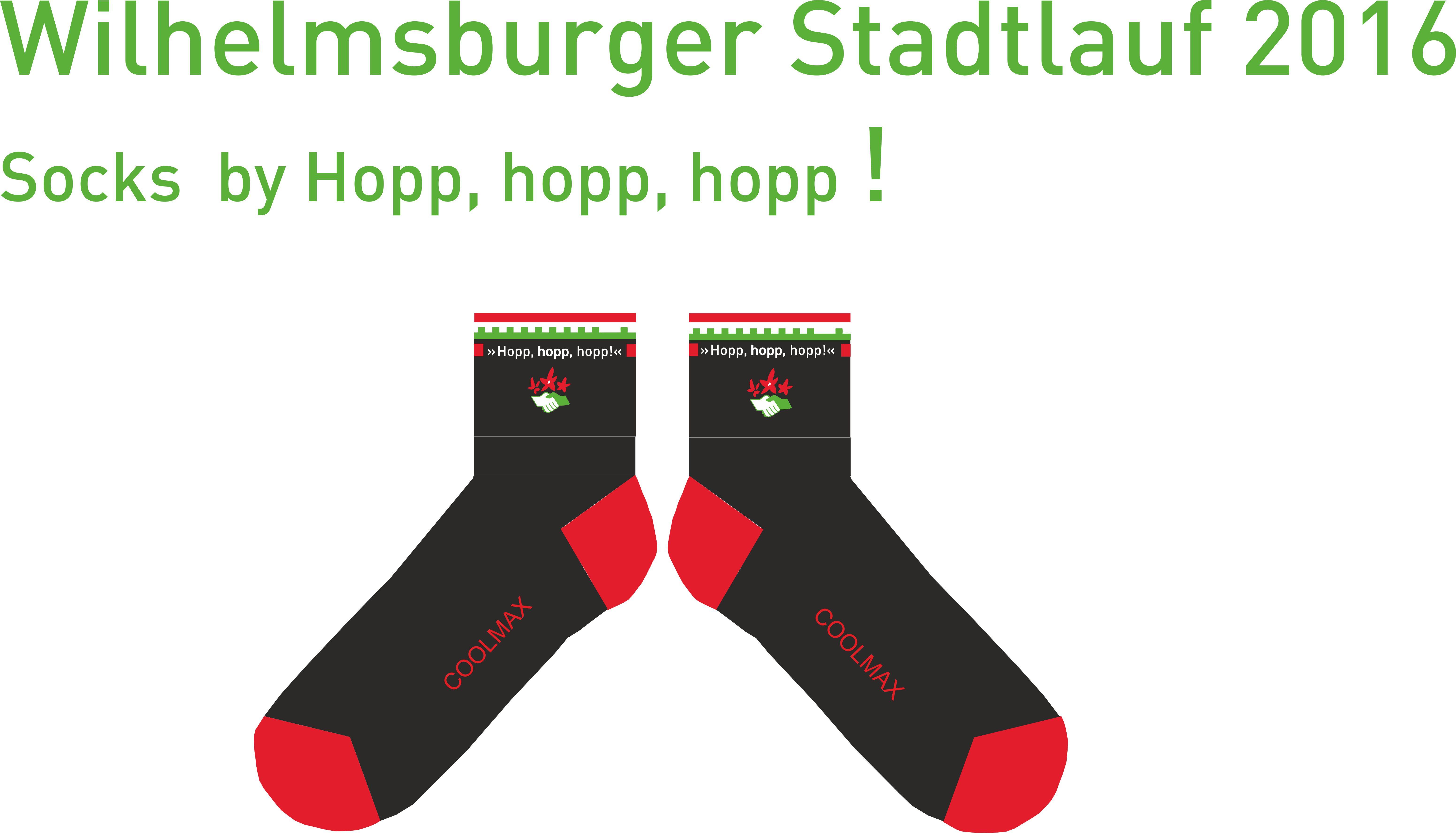 Socken Stadtlauf 2016