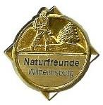 Wanderabzeichen Wilhelmsburger Rundwanderweg GOLD