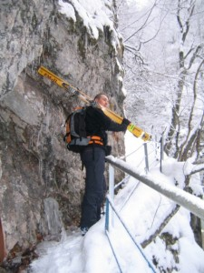 Wasserfallweg Rudi Tagesschitour