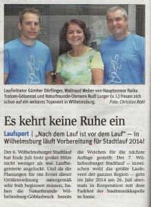 NÖN-Stadtlauf Nachbericht 2013-KW35