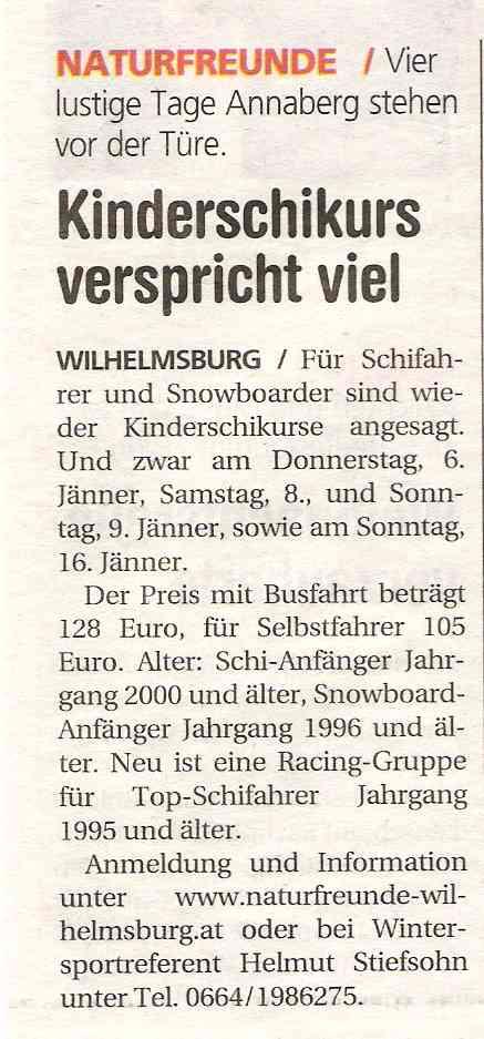 Schikursanmeldung_NÖN 2004