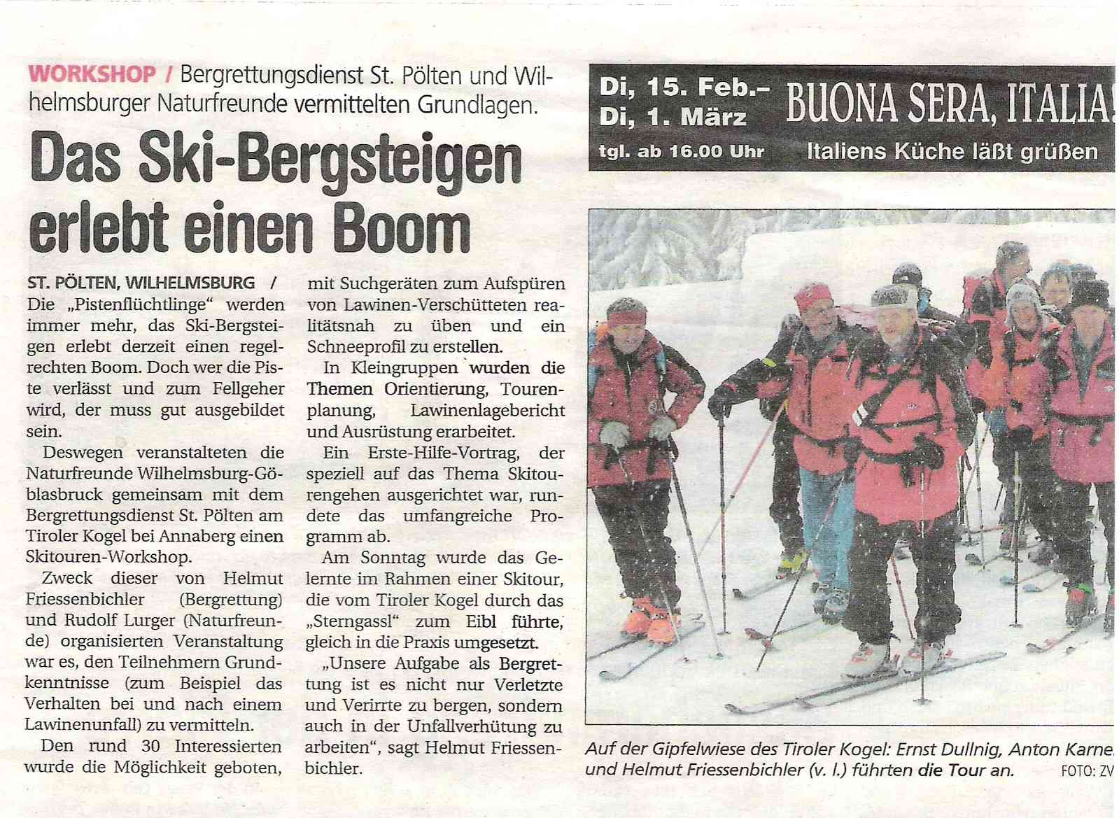 Skitourenworkshop_NÖN 2005