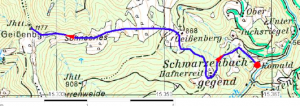 Geißenberg-Karte