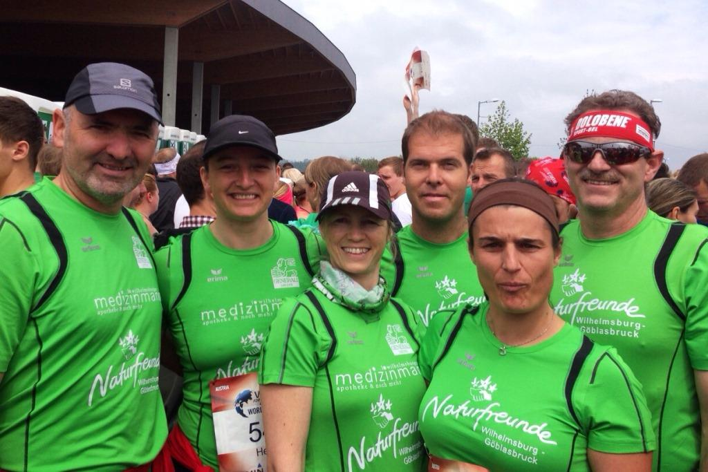 AKTUELLER BERICHT:                    Wings for Life Run 2015