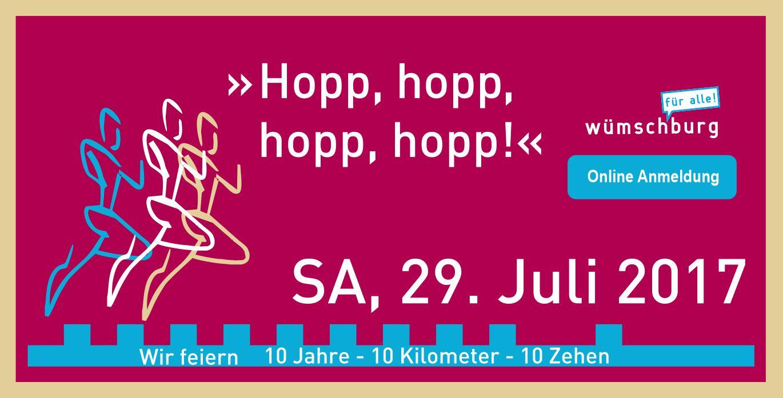 Wir feiern – 10. Wilhelmsburger Stadtlauf