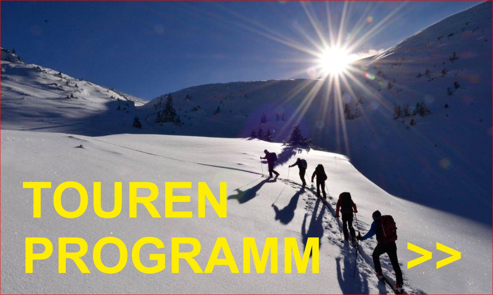 Schitourenprogramm 2017/2018