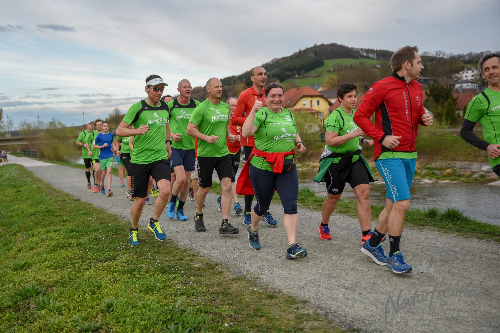 Wöchentlicher Lauftreff – Dieinstag 18:00 Uhr