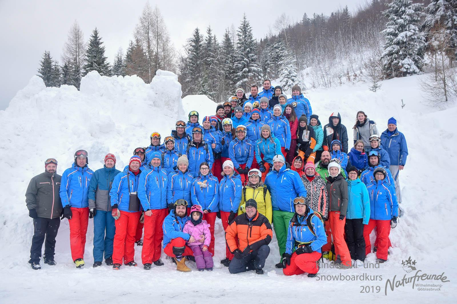 Kinderschi u. Snowboardkurs 2019 Rückblick