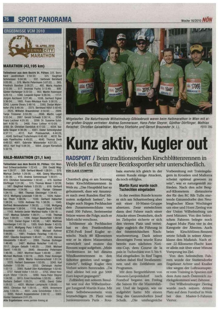 Vienna Marathon 2010