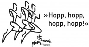 Logo mit Läufer