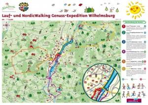 Lauf und Nordic Walking Routen Wilhelmsburg
