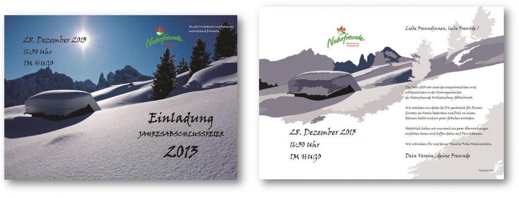 Jahresabschlussfeier 2013